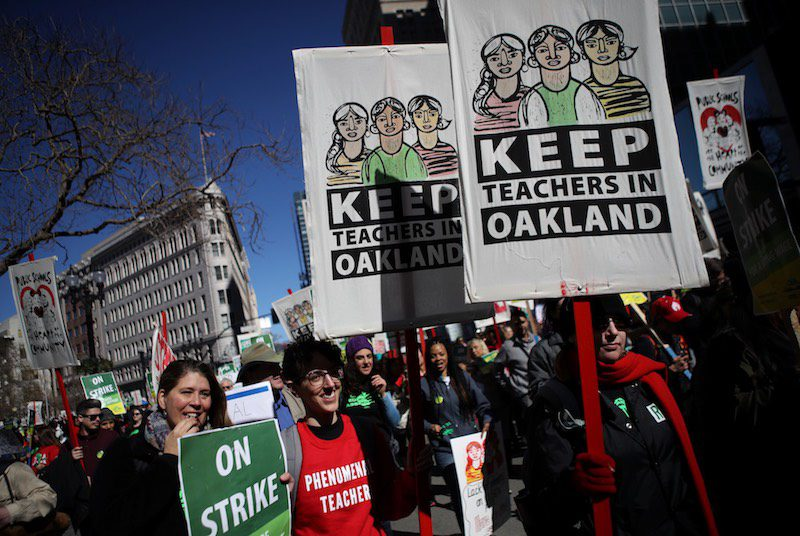 California's Housing Crisis Is Hurting Young Teachers