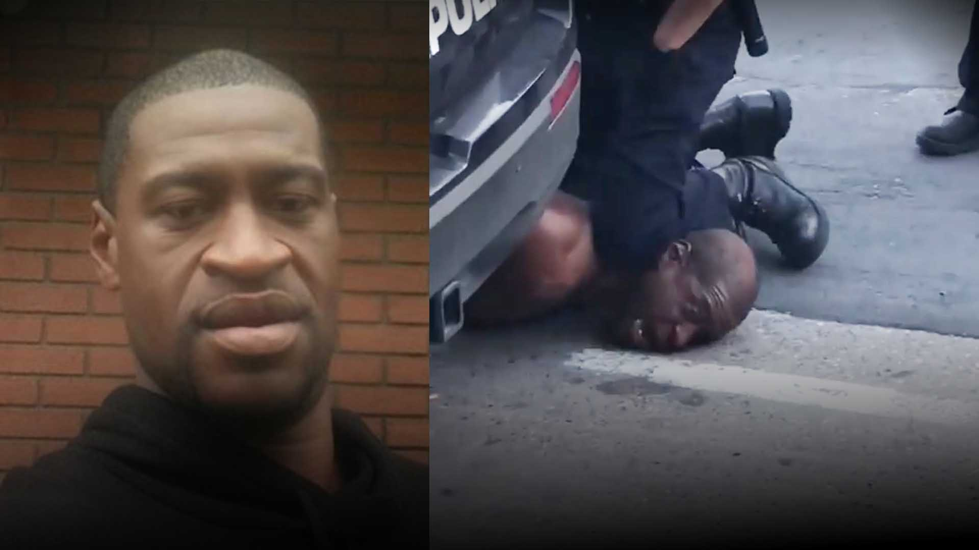 """I Can't Breathe!"" Man Dies After Video Shows Police Kneeling On His Neck For 8 Minutes"