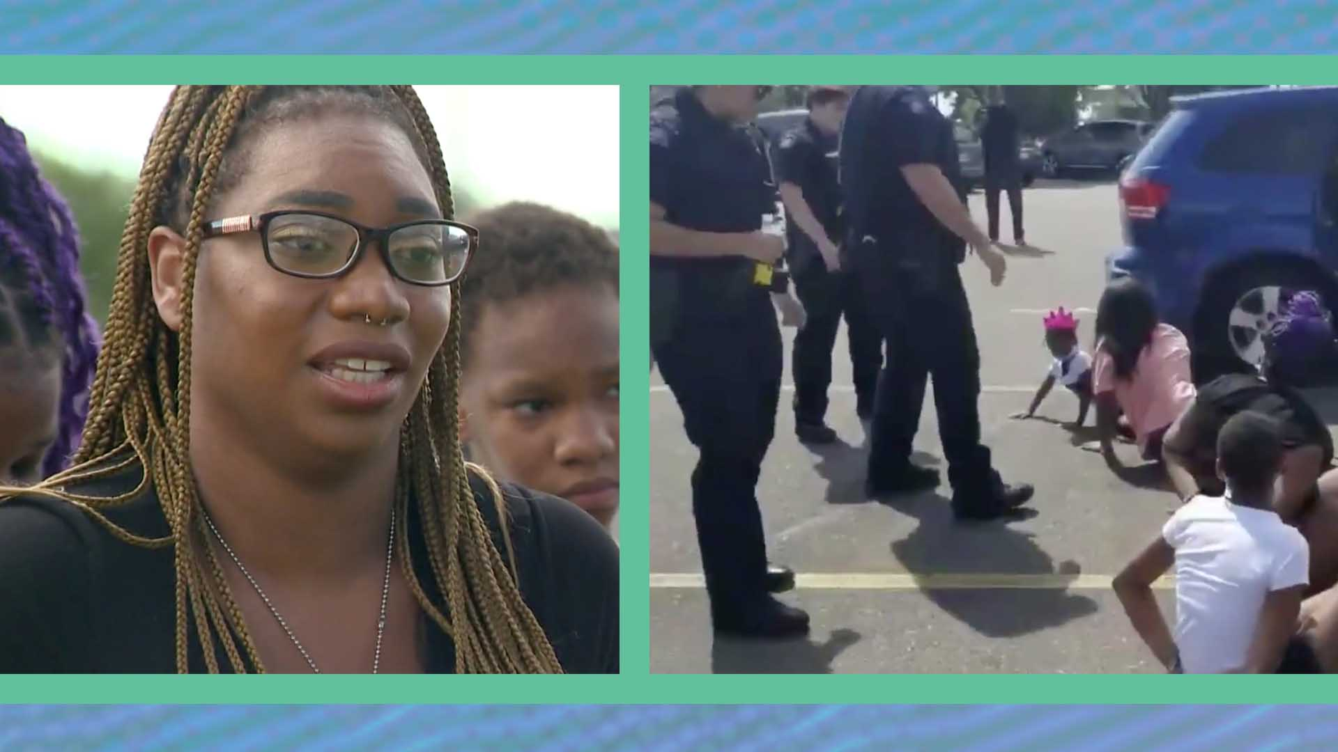 Police Hold Black Children at Gunpoint
