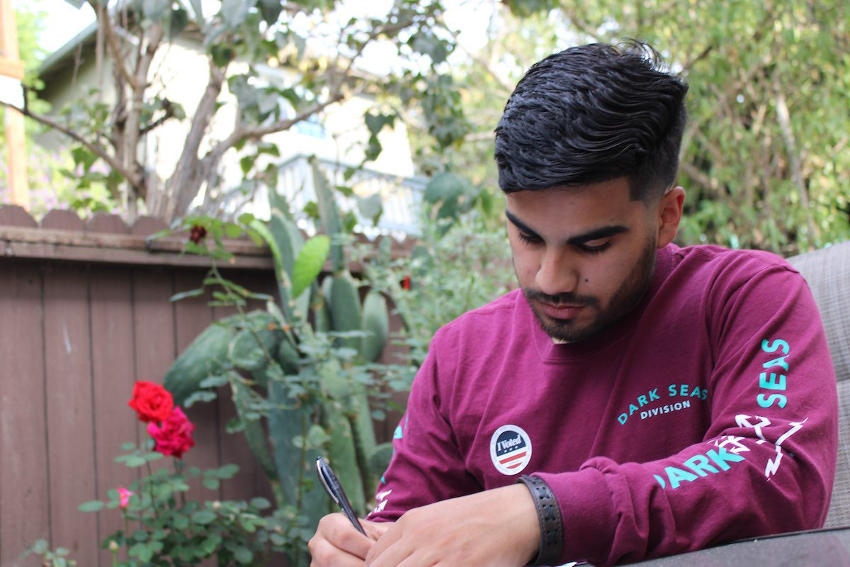 Feeling the Pressure: First Time Voter Reflects on Historic Election