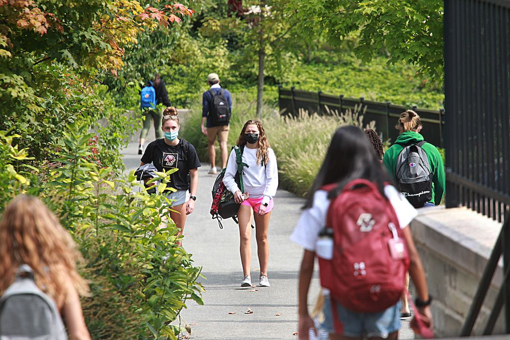 On Campus: Keeping Distance and 'Culture of Silence' Around COVID