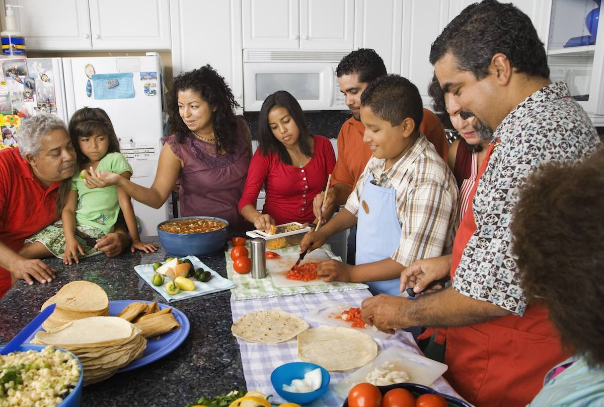 The Mental Price of Moving Back in with Your Big Ethnic Family
