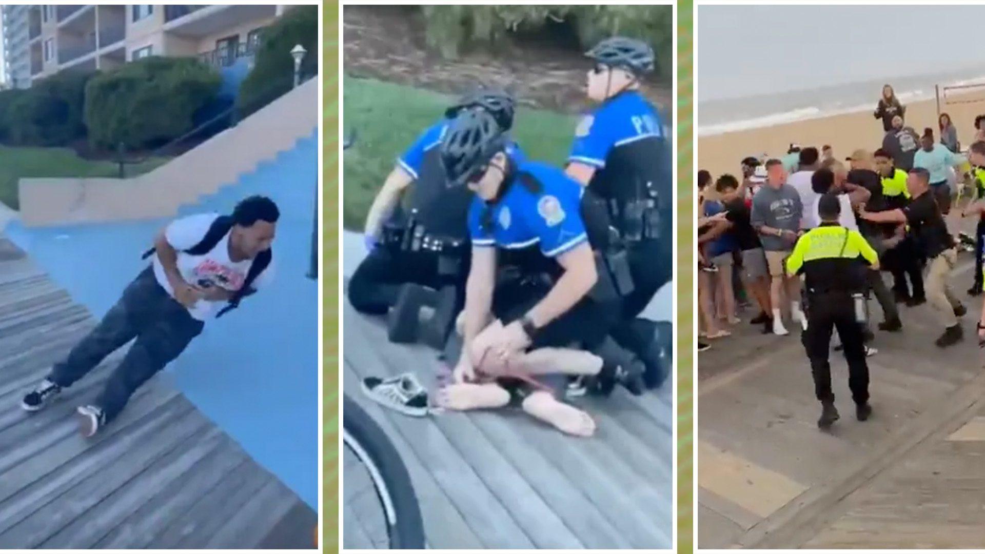 Cops Caught Kneeling on Teen's Neck