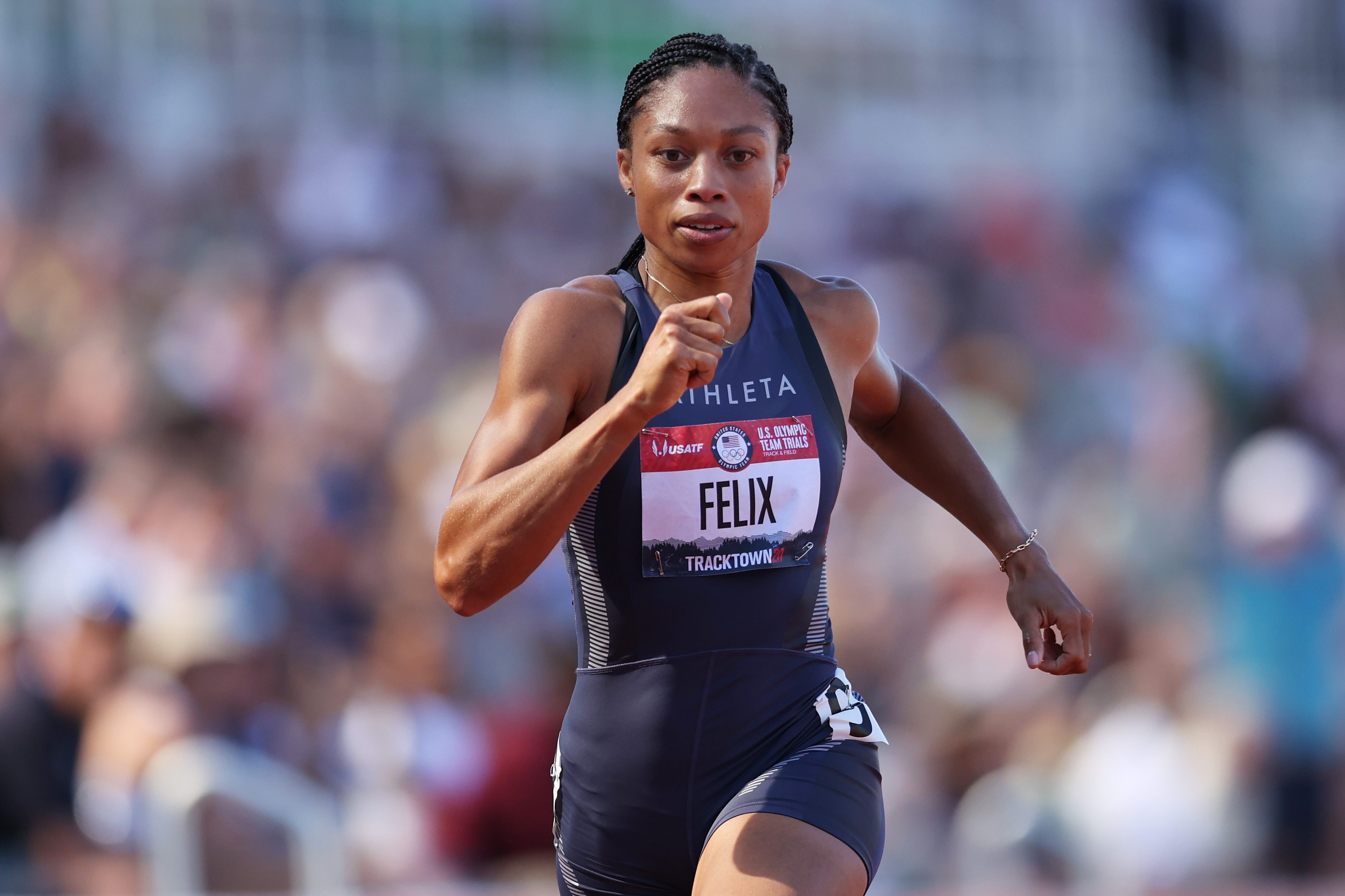 Select Olympic Track Hopefuls Get $10K from Allyson Felix