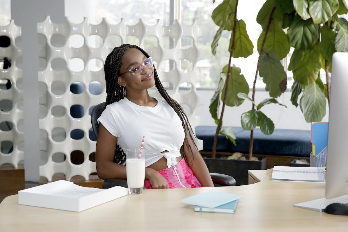 Marsai Martin's New Digital Series Teaches Teens Financial Literacy