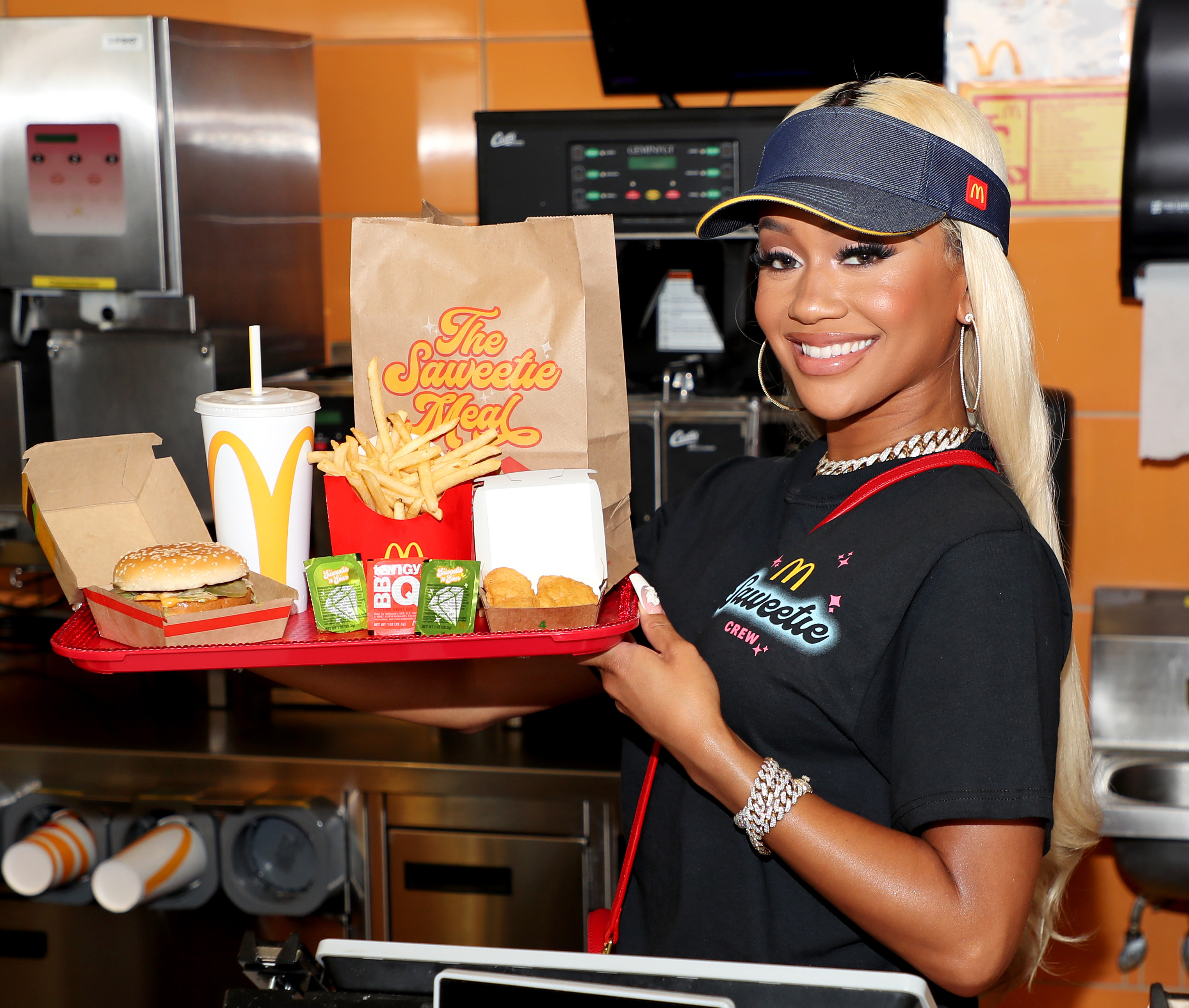 Saweetie Collabs with McDonald's on New Celebrity Meal