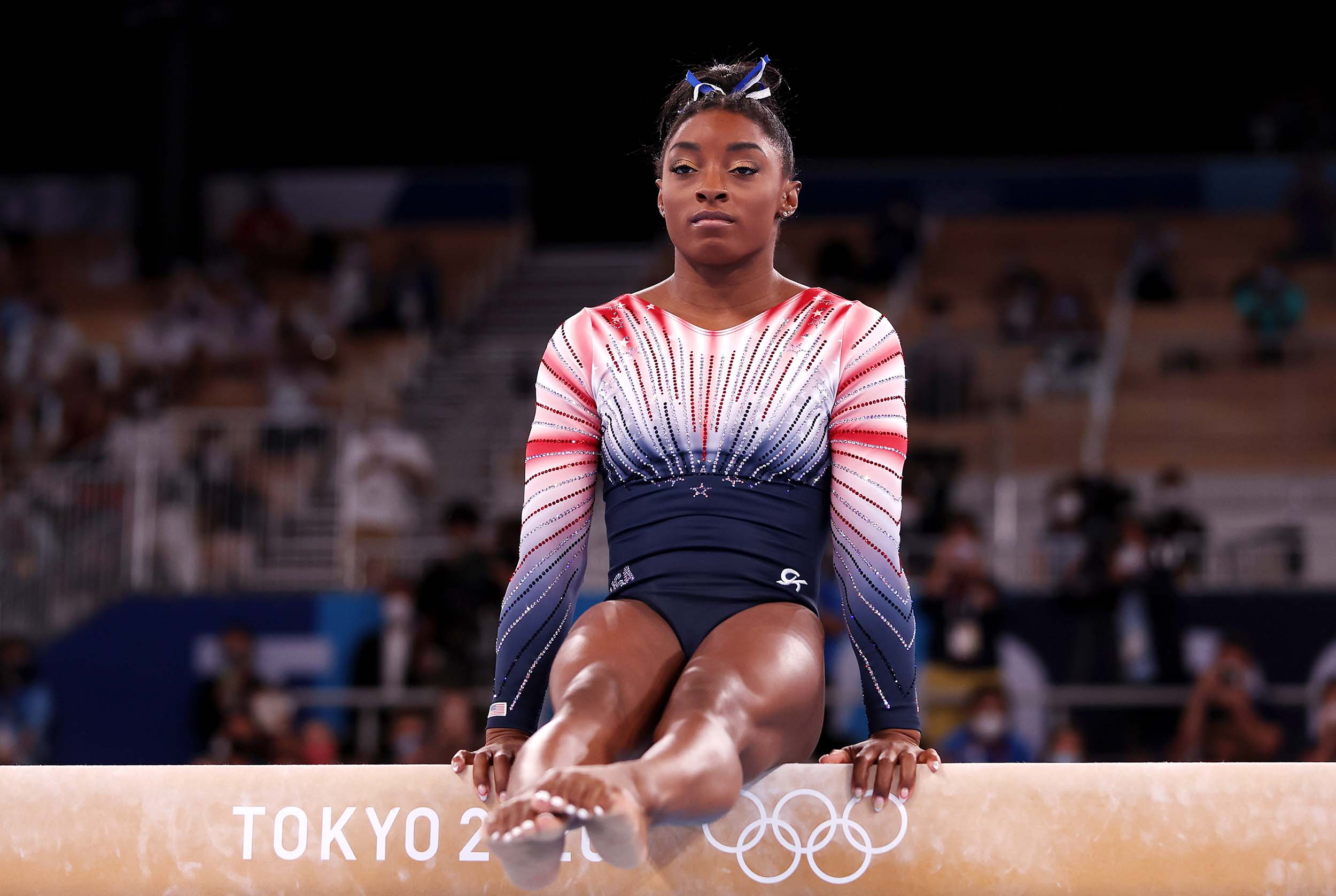 Olympics: Simone Biles Wins Bronze, Candy Jacobs Talks 'Inhumane' Housing
