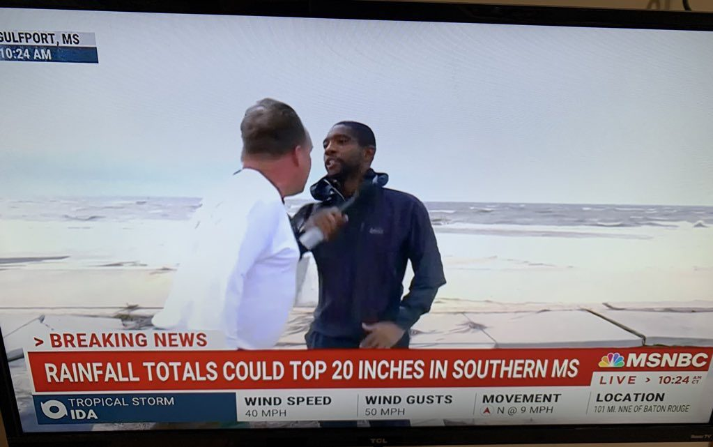 The Lowdown: Hurricane News Report Interrupted By Racism