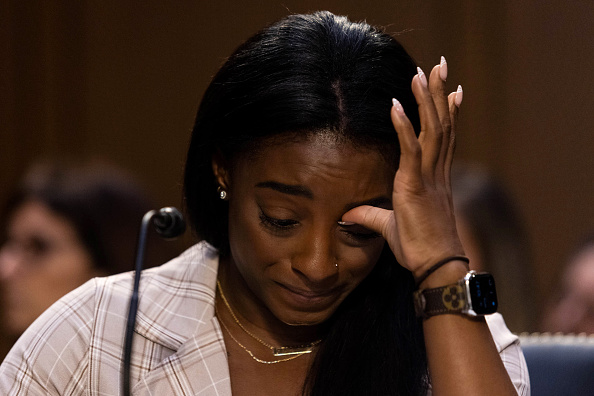 Simone Biles, 'Failed' by Many, Tearfully Recounts Sex Abuse by Larry Nassar
