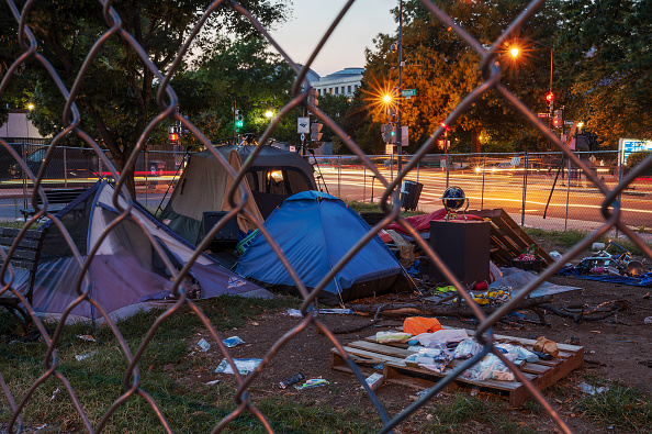 Young Homeless Population Rose in D.C.